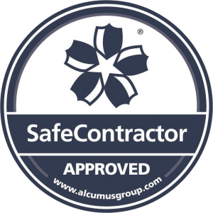 Seal colour SafeContractor Sticker